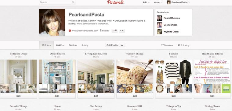 PearlsandPasta on Pinterest